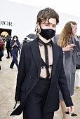 Dior : Outside Arrivals -  Paris Fashion Week -...