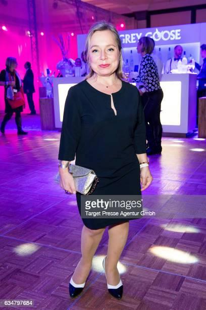 Christine Urspruch attends the Medienboard BerlinBrandenburg Reception during the 67th Berlinale International Film Festival Berlin at on February 11...