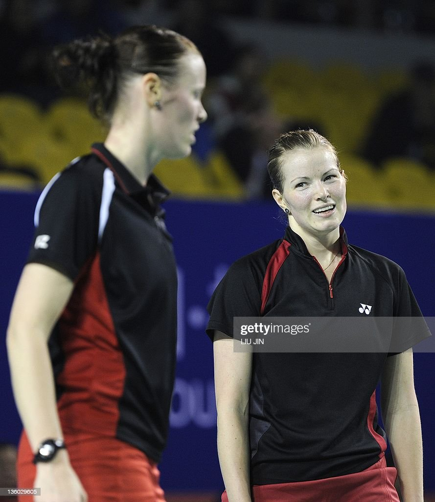Christinna Pedersen R and Kamilla Rytt