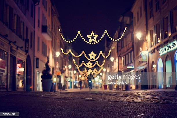 Christmas ambiance in Colmar, Alsace, France