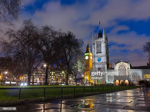 Christmas at Parliament Square, London