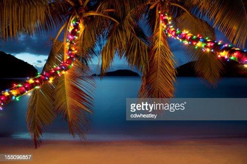 クリスマスは、カリブ海のビーチ
