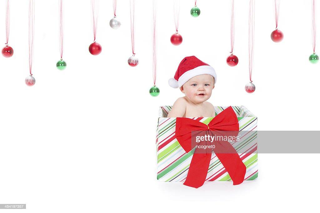Christmas Baby : Stock Photo