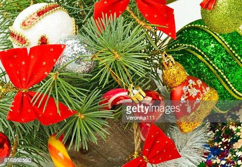 Christmas background. : Stock Photo