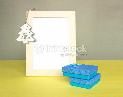 Fotorahmen Weihnachten.Weihnachten Hintergrund Mit Fotorahmen Weihnachten Spielzeug