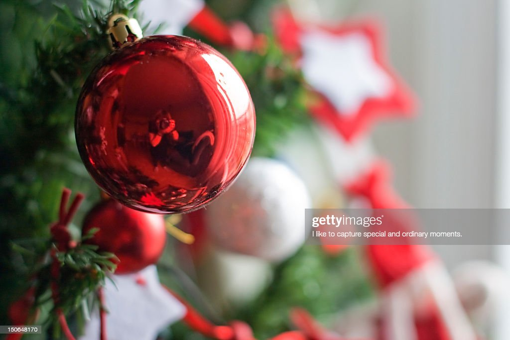 Christmas balls : Stock Photo