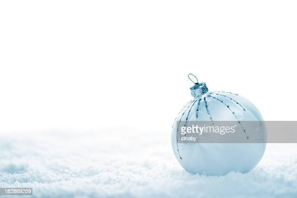Christmas Bauble in Blue