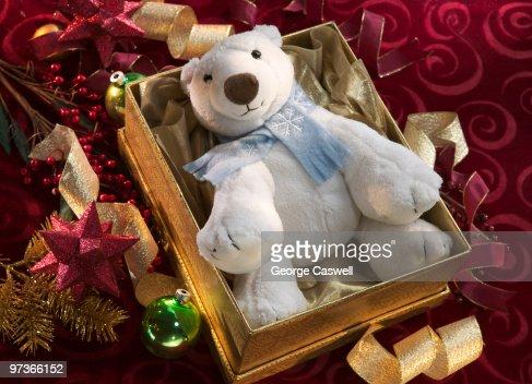 Christmas Bear : Stock Photo