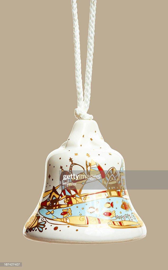 Christmas Bell Dekoration : Stock-Foto
