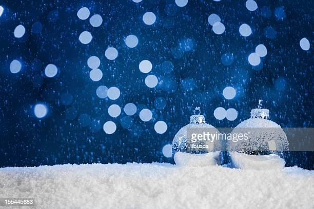 Fond bleu de Noël avec espace pour copie