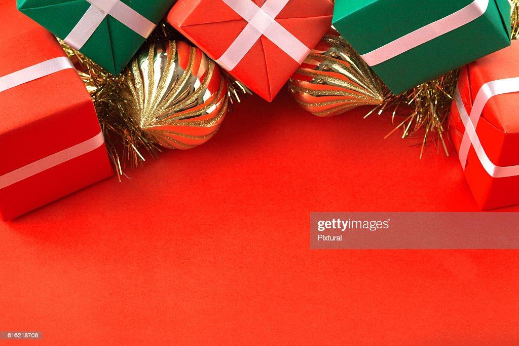 Confine di Natale : Foto stock