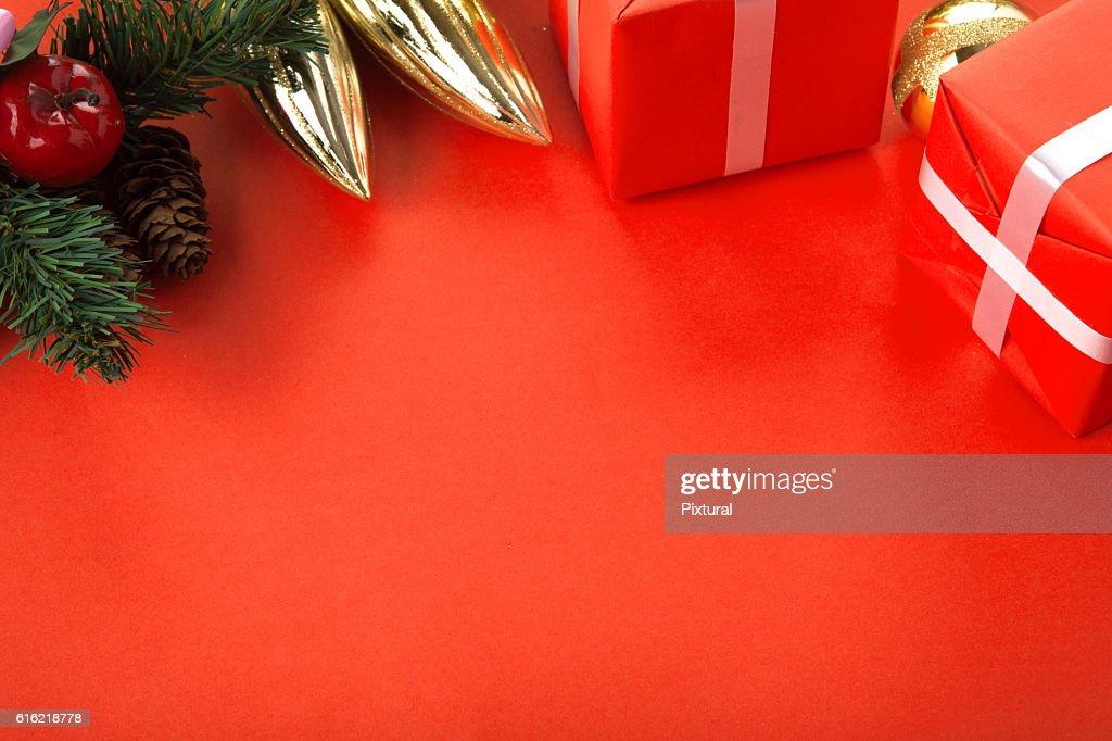 クリスマスのボーダー : ストックフォト
