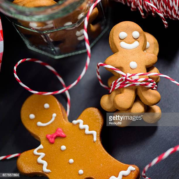 Christmas Candy Cookie Parade - Gingerbread Men