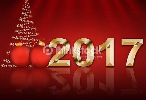 Tannenarten Weihnachtsbaum.Weihnachtskarte Mit Weihnachtsbaum 2017 Stock Foto Thinkstock