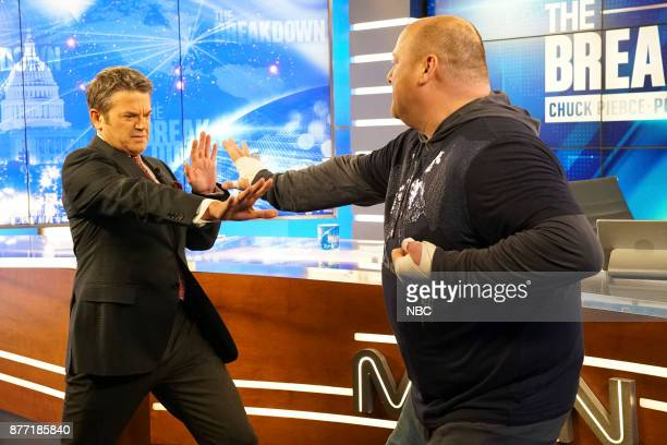 NEWS 'A Christmas Carol Wendelson' Episode 207 Pictured John Michael Higgins as Chuck Will Sasso as Petey