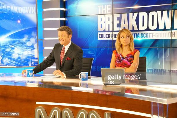 NEWS 'A Christmas Carol Wendelson' Episode 207 Pictured John Michael Higgins as Chuck Nicole Richie as Portia
