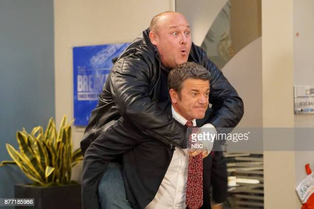 NEWS 'A Christmas Carol Wendelson' Episode 207 Pictured Will Sasso as Petey John Michael Higgins as Chuck