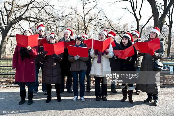 Weihnachten carolers