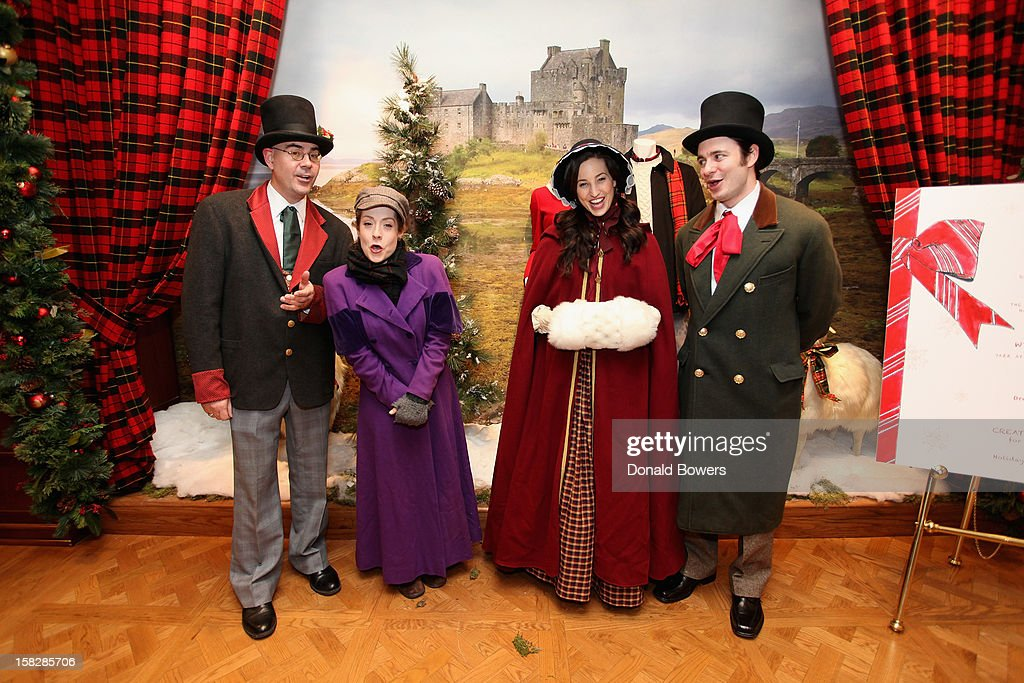 Christmas caroling during The Brooks Brothers Hosts Seventh Annual Holiday Celebration To Benefit St Jude Children's Research Hospital on December 12...