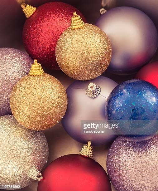 Décoration de Noël Boule de couleur