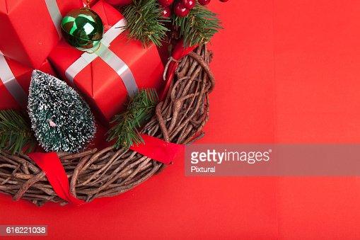 Christmas concept : Bildbanksbilder