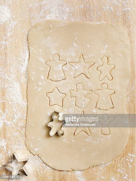 Christmas Cookie Dough with Cutters