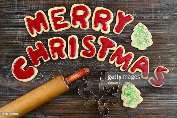 Biscuit de Noël voeux