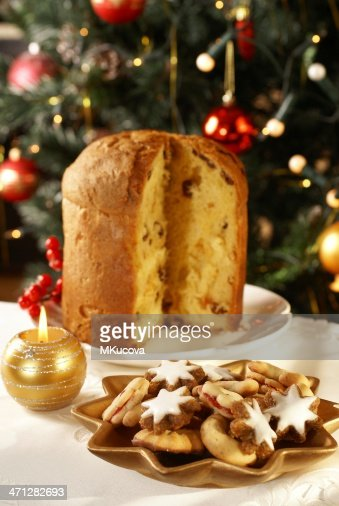 Christmas cookies and cake