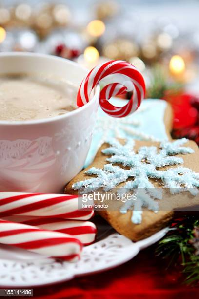 Christmas- cookies and hot chocolate