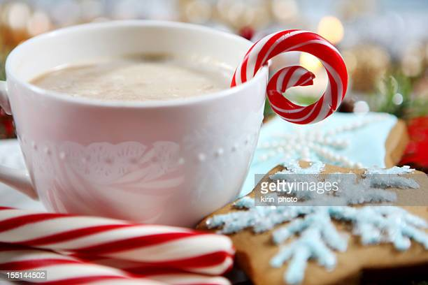 Christmas- cookies et chocolat chaud