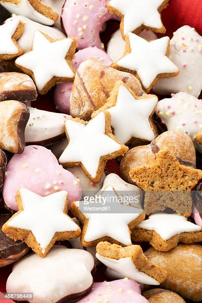 Christmas cookies, close-up