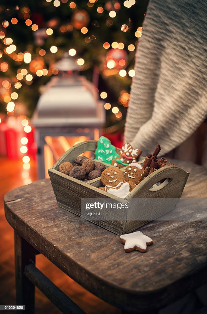 Christmas Cookies : Stock Photo
