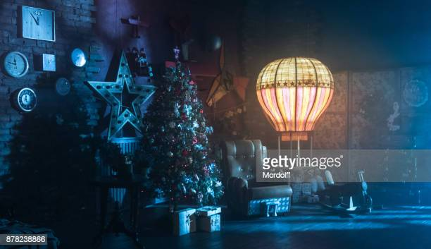 Christmas Decor in Studio at Aviation Style