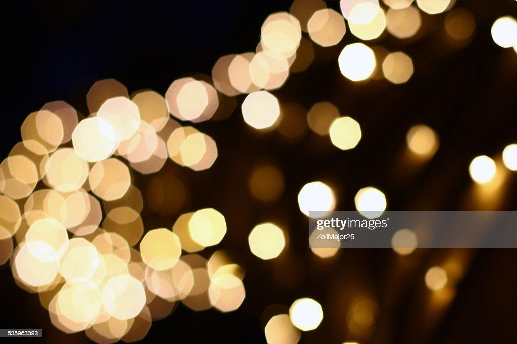 christmas decoration bokeh : Stock Photo