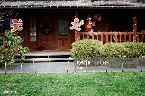 Christmas Decorations in Lawn