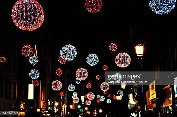 Christmas Decorations In Street