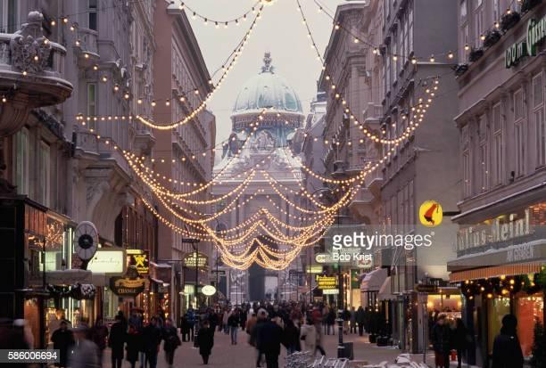 Christmas Decorations on Kohlmarkt