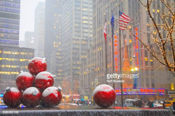 Rockefeller center stock photos and pictures getty images for New york city decor
