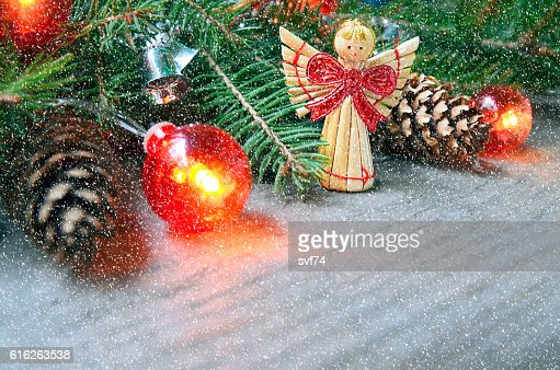 Christmas decoration.Winter holidays,Christmas or New Year concept. : Stock Photo