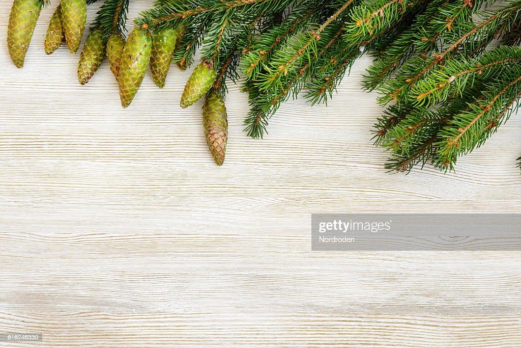 Natal decorativo fundo. : Foto de stock