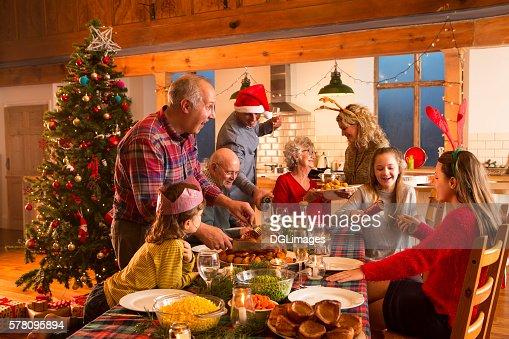 クリスマスディナー  : ストックフォト