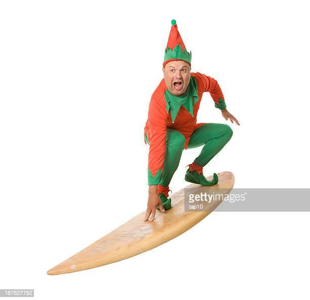 Christmas Elf Surfen