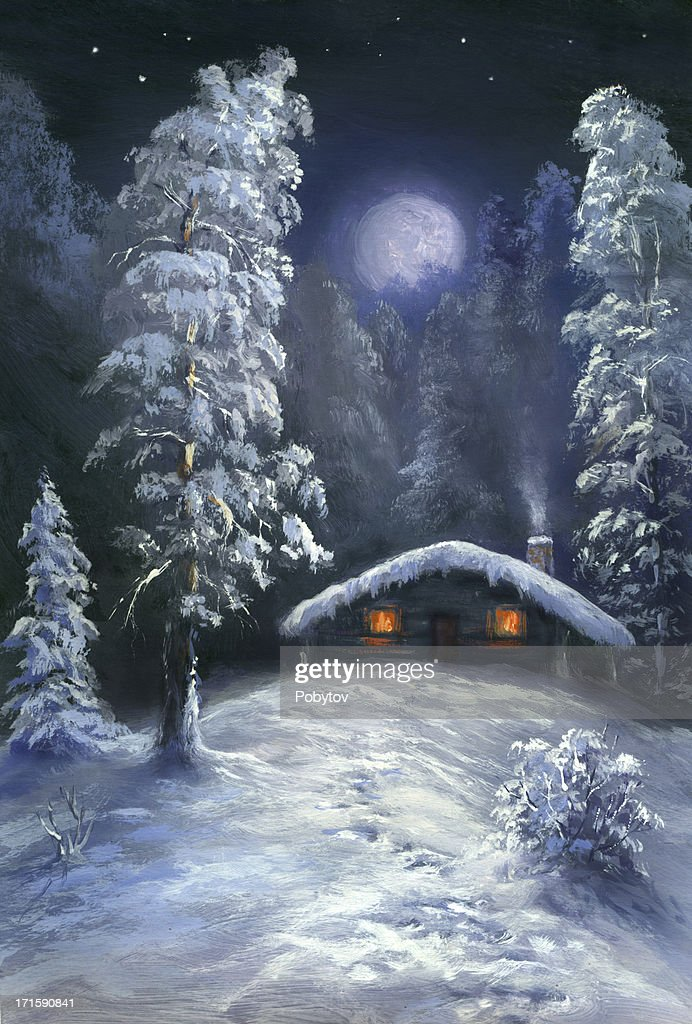 Christmas Eve : Stock Photo
