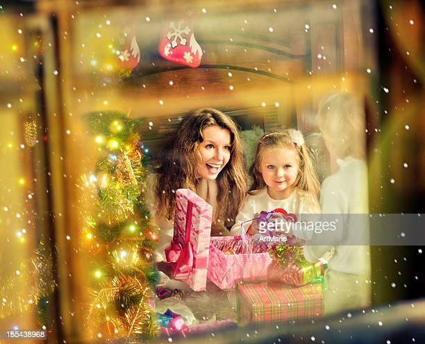 Christmas evening