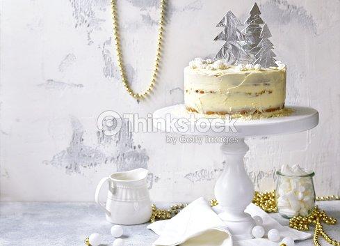 Gateau De Fete De Noel.Gâteau à La Carotte Fête Noël Avec Remplissage De Mascarpone