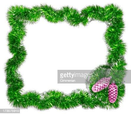 Christmas festive frame - Add Text