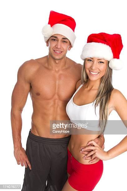 Casal fitness de Natal