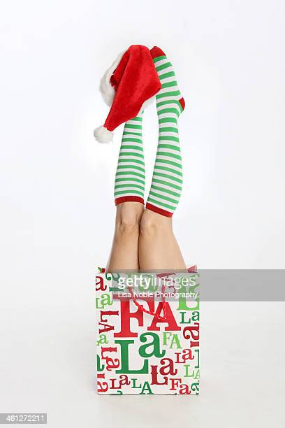 Christmas fun with legs