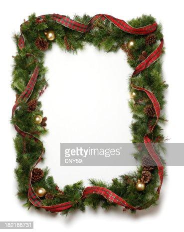 Guirnalda de Navidad bastidor