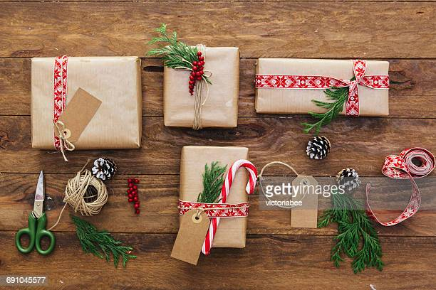 Christmas gift arrangement